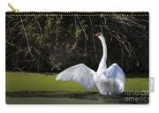 Swan Wings Spread Carry-all Pouch