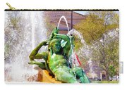 Swann Fountain Gods Carry-all Pouch
