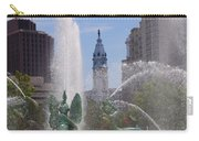 Swann Fountain In Philadelphia Carry-all Pouch