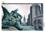 Swann Fountain Statue Carry-all Pouch