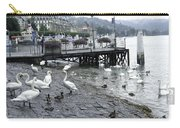 Swans And Ducks In Lake Lucerne In Switzerland Carry-all Pouch