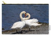 Swans Courting Carry-all Pouch