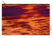 Swans Flying Carry-all Pouch
