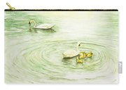 Swans In St. Pierre Carry-all Pouch