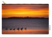 Swans In The Sunrise Carry-all Pouch