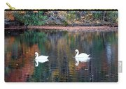 Swans At Betty Allen Carry-all Pouch