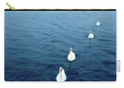 Swans On The Vltava River, Prague Carry-all Pouch