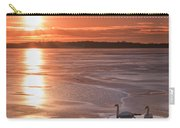Swans Sunrise Carry-all Pouch