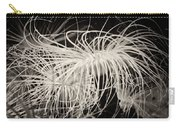 Swaying Anemone Bw Carry-all Pouch