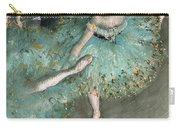 Swaying Dancer .dancer In Green Carry-all Pouch