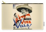 Swedish Poster #1   Viva Villa 1934-2008 Carry-all Pouch