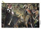 Swedish Vallhund  - Vastgotaspets Art Canvas Print Carry-all Pouch