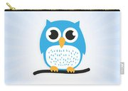 Sweet And Cute Owl Carry-all Pouch
