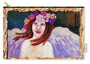 Sweet Angel Carry-all Pouch by Genevieve Esson
