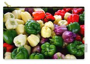 Sweet Bell Peppers Carry-all Pouch