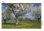 Sweet Cherry Orchard In Full Bloom Carry-all Pouch