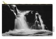 Sweet Creek Falls Oregon Monochrome Carry-all Pouch
