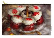 Sweet - Cupcake - Red Velvet Cupcakes  Carry-all Pouch by Mike Savad