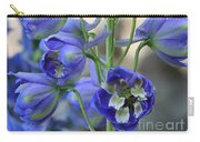 Sweet Delphinium Carry-all Pouch