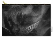 Sweet Dreams In Black And White Carry-all Pouch