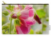 Sweet Hollyhock Carry-all Pouch