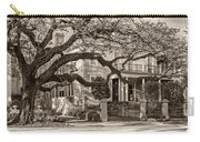 Sweet Home New Orleans 2 Sepia Carry-all Pouch