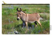 Sweet Miniature Donkey Carry-all Pouch