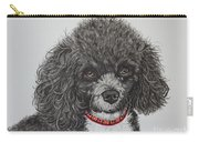 Sweet Miss Molly The Poodle Carry-all Pouch