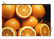 Sweet Oranges Whole And Halved Carry-all Pouch