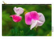 Sweet Pea Blossoms Carry-all Pouch