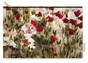 Sweet Pea Swath Carry-all Pouch