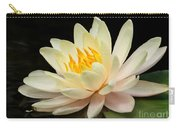 Sweet Peach Water Lily Carry-all Pouch