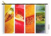 Sweet Pepper Watercolor Carry-all Pouch