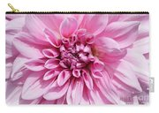 Sweet Pink Dahlia Carry-all Pouch