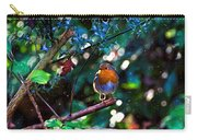 Sweet Robin Redbreast - Impressions Carry-all Pouch