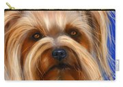 Sweet Silky Terrier Portrait Carry-all Pouch