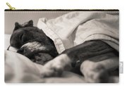 Sweet Sleeping Boxer Carry-all Pouch