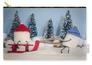 Sweet Sleigh Ride Carry-all Pouch by Heather Applegate
