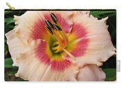 Sweet Sugar Candy Daylily Carry-all Pouch