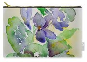 Sweet Violets Carry-all Pouch