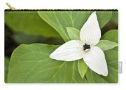 Sweet White Trillium Carry-all Pouch