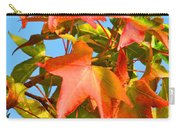 Sweetgum Leaves In Autumn Carry-all Pouch