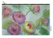 Sweetness Floral Painting Carry-all Pouch