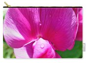 Sweetpea Flower Upclose Carry-all Pouch
