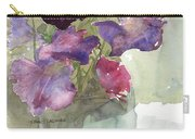 Sweetpeas 3 Carry-all Pouch