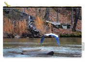 Sweetwater Heron In Flight Carry-all Pouch