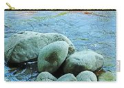 Swift River Rock Kancamagus Highway Nh Carry-all Pouch