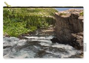Swiftcurrent River At Many Glacier Carry-all Pouch