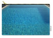 Swim Above The Santorini Island Carry-all Pouch