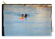 Swimmer In The Truckee River Carry-all Pouch